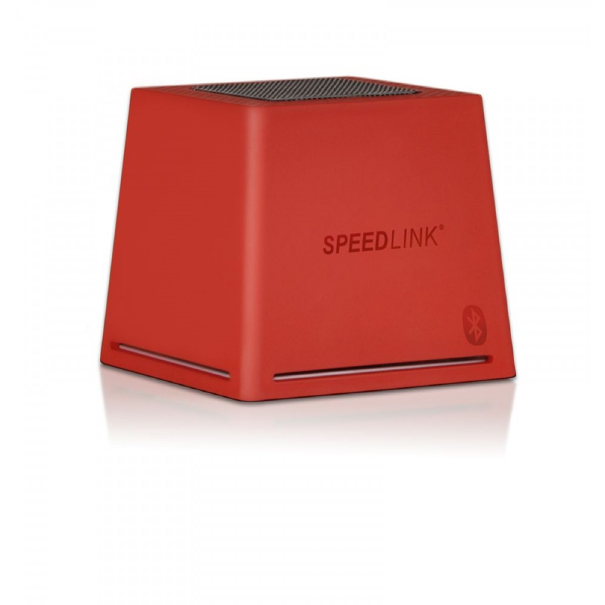 CUBID Portable Speaker -  Bluetooth, red