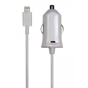 Image of   12V Lightning Charger White 2.4A 1.0m