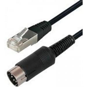 Image of   8 Pin Din M - Rj45 2.0m Black