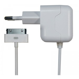 Image of AC Charger Ipad1/2/3 2.1A Apple MFI 30pin 1.0m