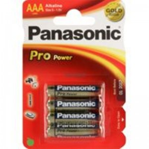 Image of   Alkaline Pro Power Gold Panasonic Batteri