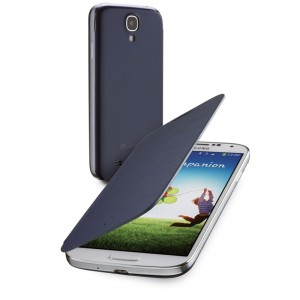 Image of   Backbook Galaxy S4 Blue