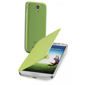 Image of   Backbook Galaxy S4 Green