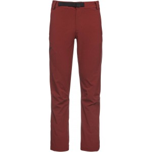 Black Diamond M Alpine Pants - Red Oxide - Str. XLG - Bukser