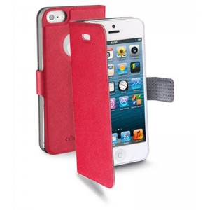 Image of   Book Case slim For iPhone5, Red