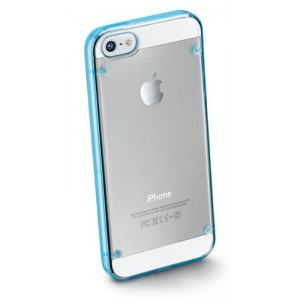 Image of   Bumper Plus For iPhone5 Blue