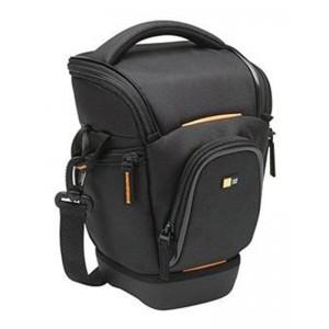 Image of   Case Logic SLR Camera Case Black/Orange - 17x15.3x25.2