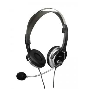 Image of   CHRONOS Stereo Headset, black- silver