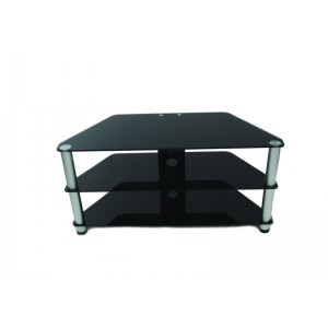 Connectech TV-Table  Black glass 60kg 100x50x40
