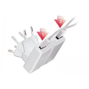 Billede af Dual USB Charger for iPad