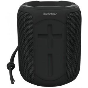 Essentials Vandtæt Bluetooth Højttaler, 2 X 5w, Ipx7, Sort – Højtaler