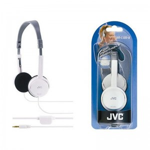 Image of   JVC Stereo headphone White