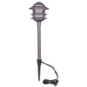Billede af Lille Retro-/2x2W spot pole+transformer 4x1W, brun - Lampe