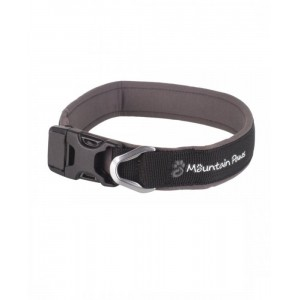 Billede af Mountain Paws Dog Collar, Medium - Black - Hundeudstyr