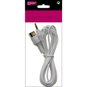 Billede af Mp3 Cable 3.5mm Din 3.0m White