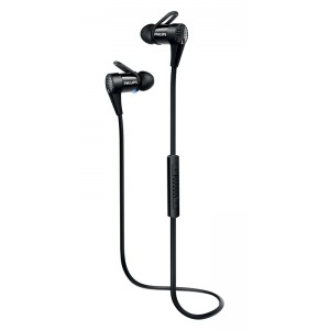 Image of   Philips BT InEar Headset Black NFC headset