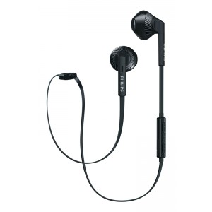 Image of   Philips in-ear BT Headset Black W. Mic.