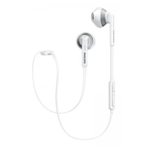 Image of   Philips in-ear BT Headset White W. Mic.