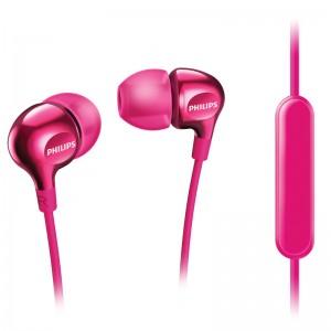 Philips in-ear headset w. Mic Pink