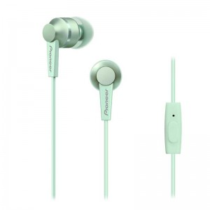 Image of   Pioneer In-Ear w/mic - Green Mintgreen