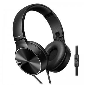 Pioneer On-ear Ht. Black. W. mic Black