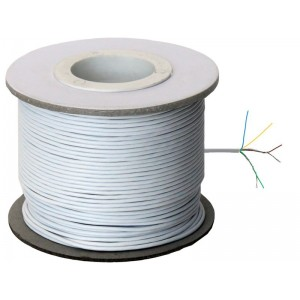 Image of   Power Link Cable 4 Cores White/Hvid 100m