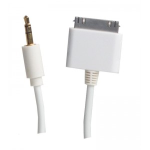 Image of   *SX iPhone Jack Cable 0,2m iPhone/iPad/iPod 3.5mm