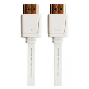 Image of   SX Plus HDMI Flat Slim White 1m