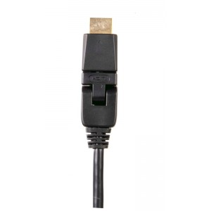 Billede af SX Swivel HDMI High Speed+ Ethernet Cable 3.0m Gold