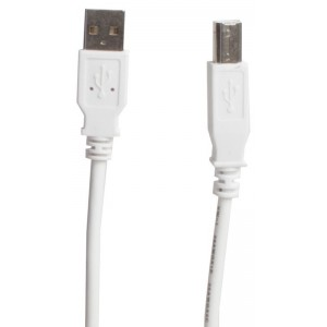 Billede af SX USB 2.0 Cable White 1.8m