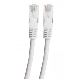 Image of   SX UTP Patch Cat 5e White 1.0m