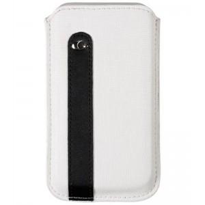 Billede af Universal Eco-Leather Sleeve White/Black