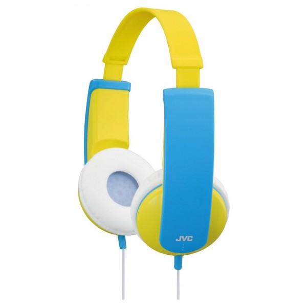 JVC Kids Headphone, Yellow White